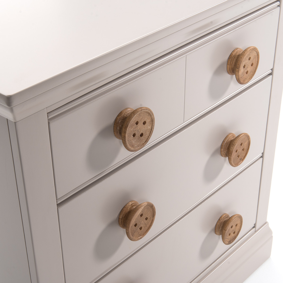 Buttons 2+2 Drawer Chest
