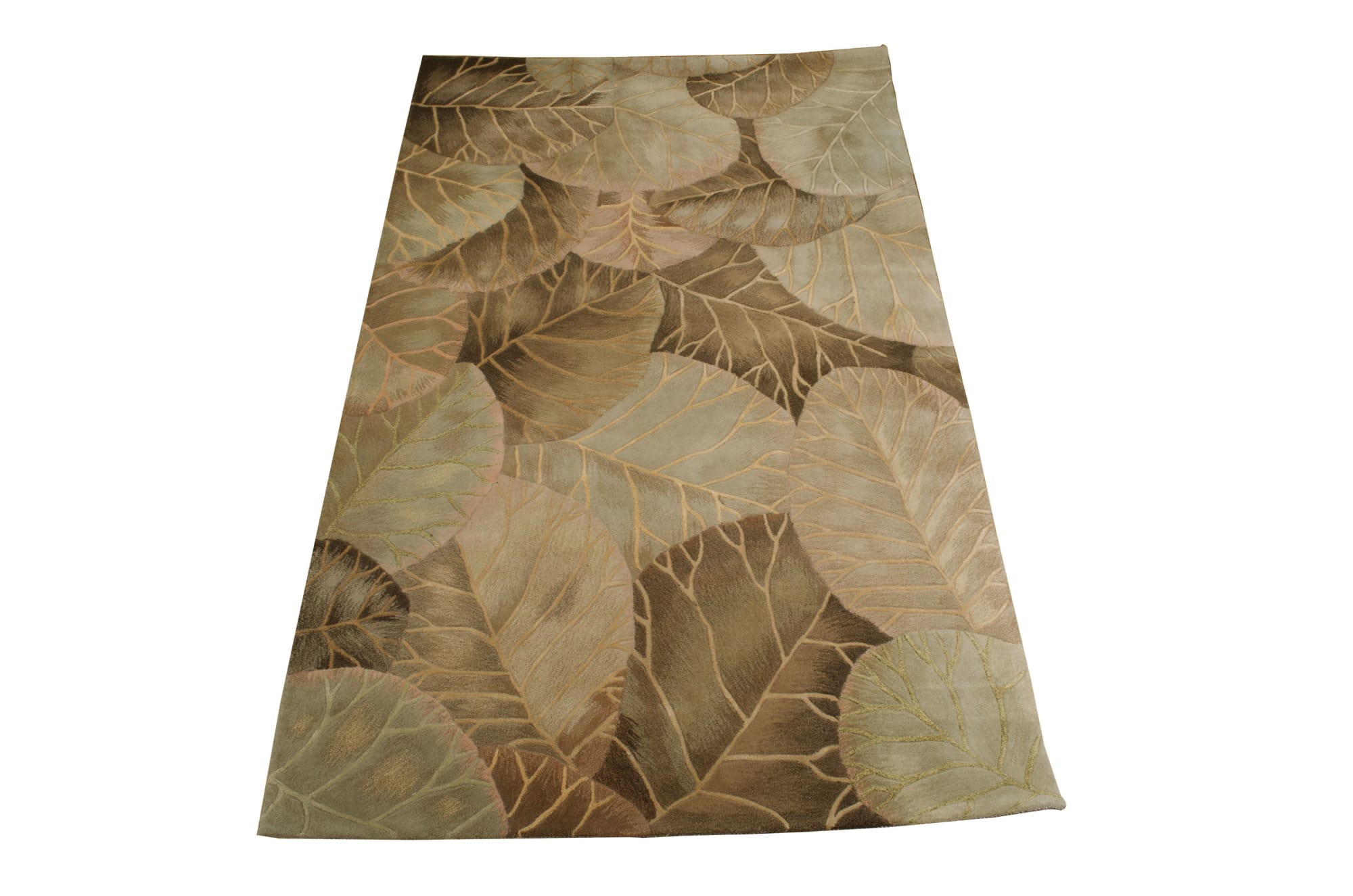 Tropics Rug TS12 Brown/Green