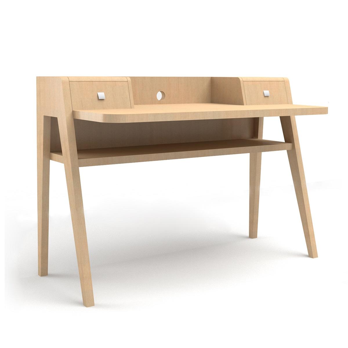 Havana Oak Desk