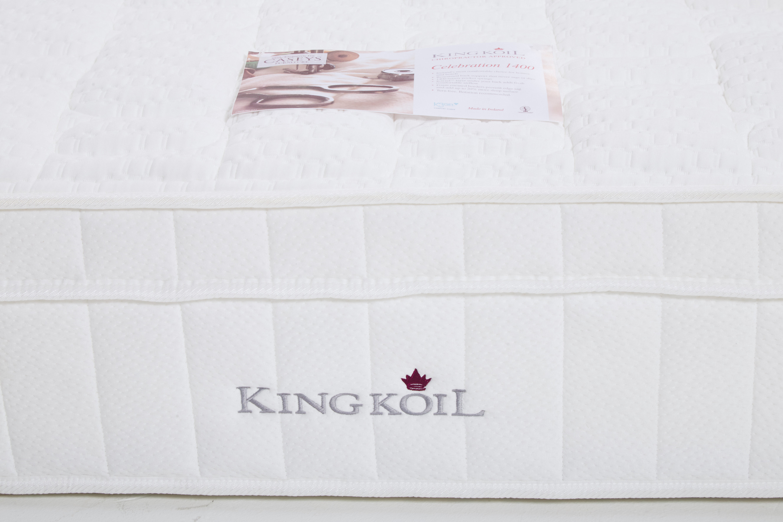 King Koil Celebration 1400 6ft Mattress