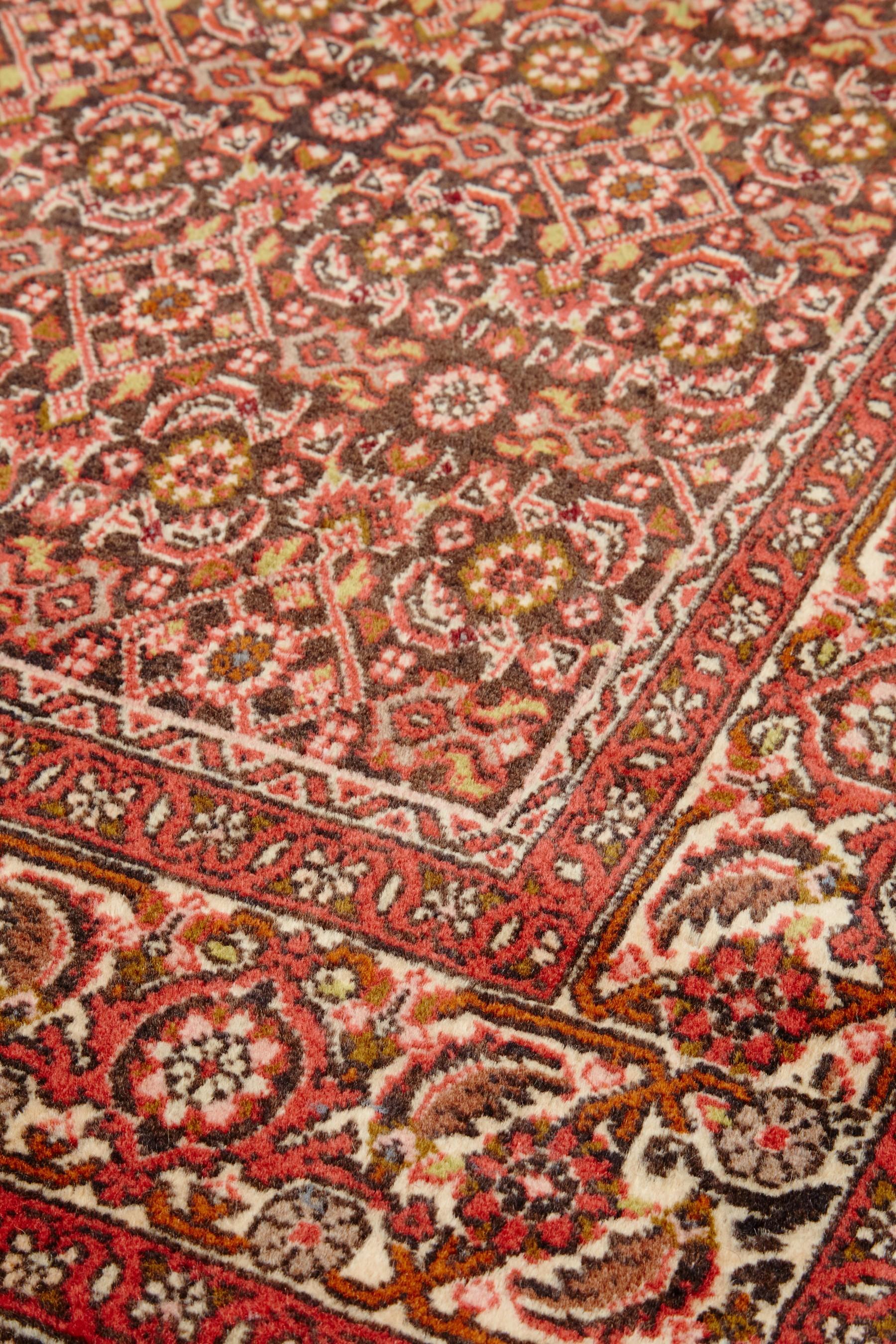 Bidjar Persian Rug 290x86 cm