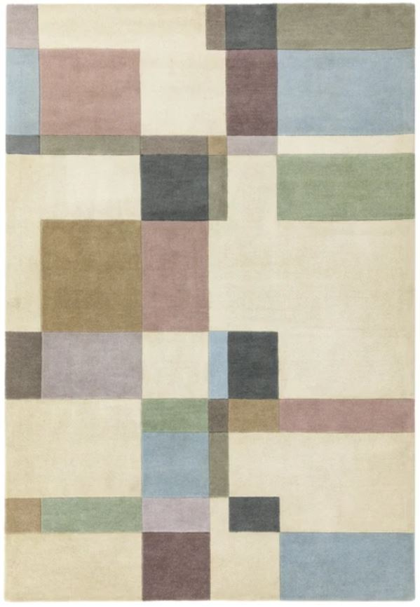 Reef Rug RF17 Blocks Pastel