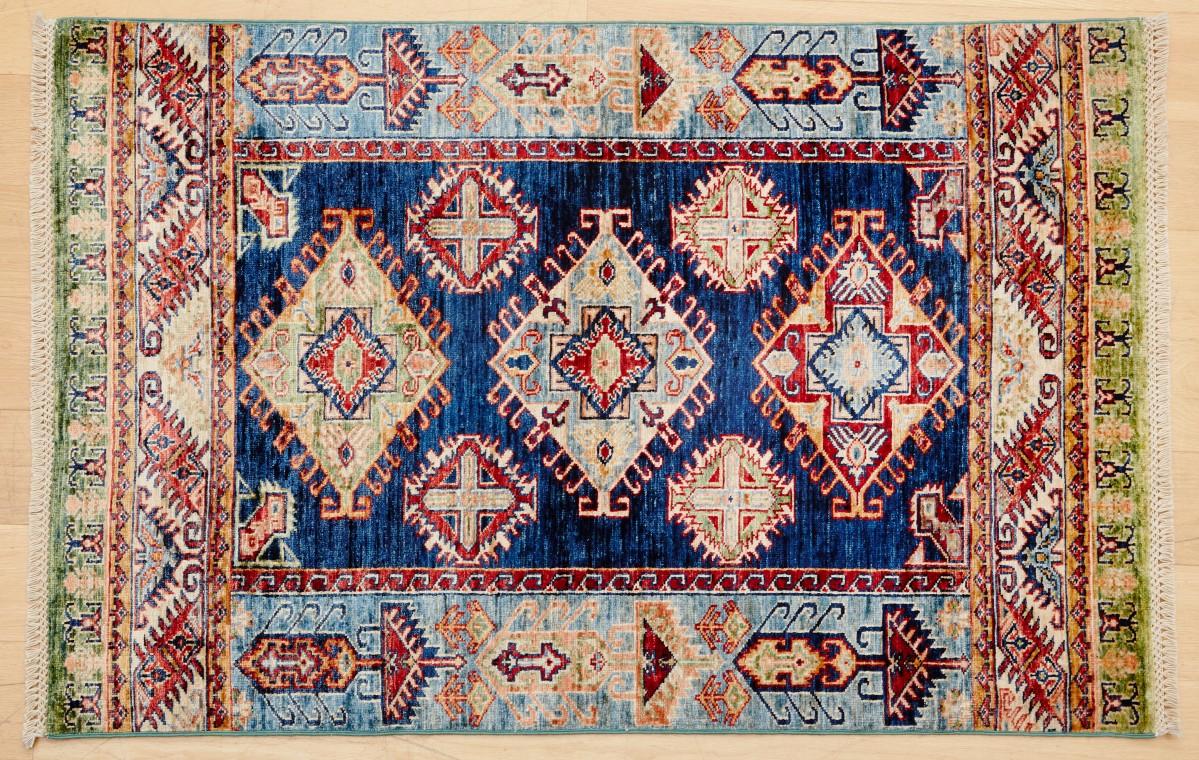 Fine Super Kazak Rug 150x102 cm