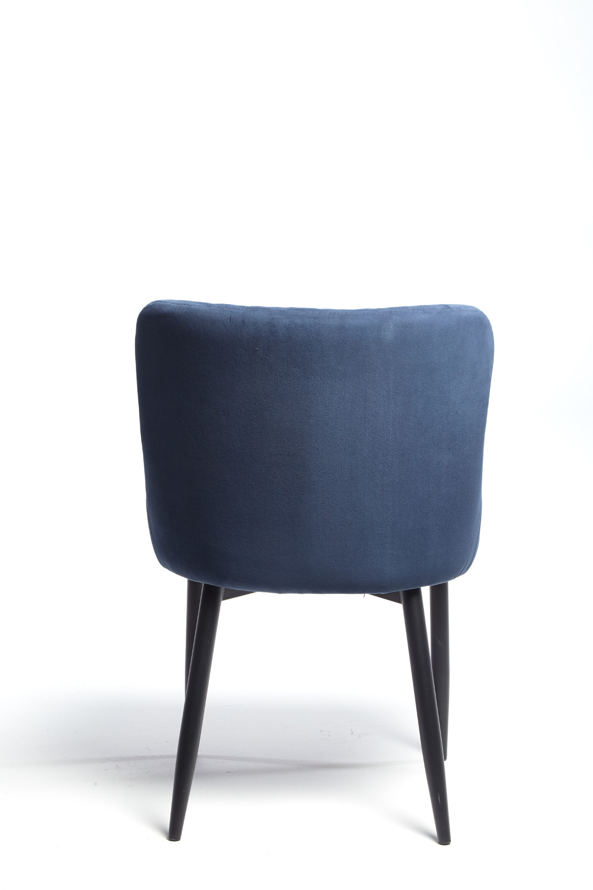 Maxwell Chair (Dark Blue Velvet)