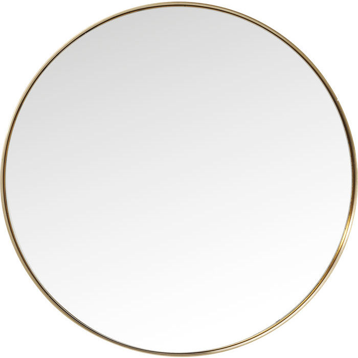 Brass Curve Mirror