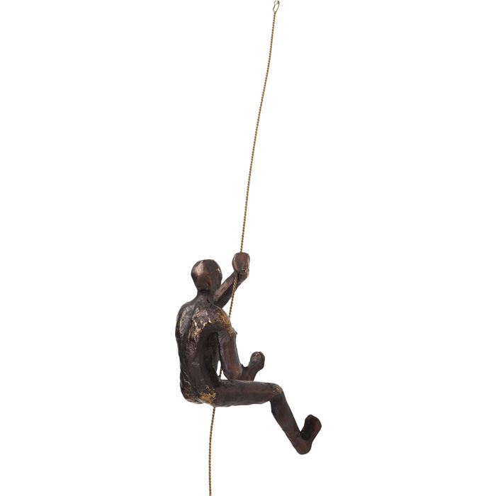 Rope Climber Wall Decoration