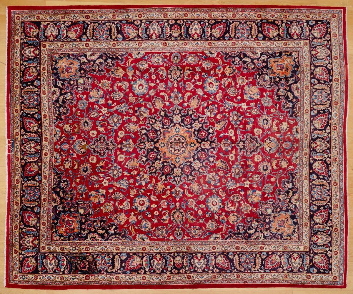 Mashad Persian Rug 343x300 cm