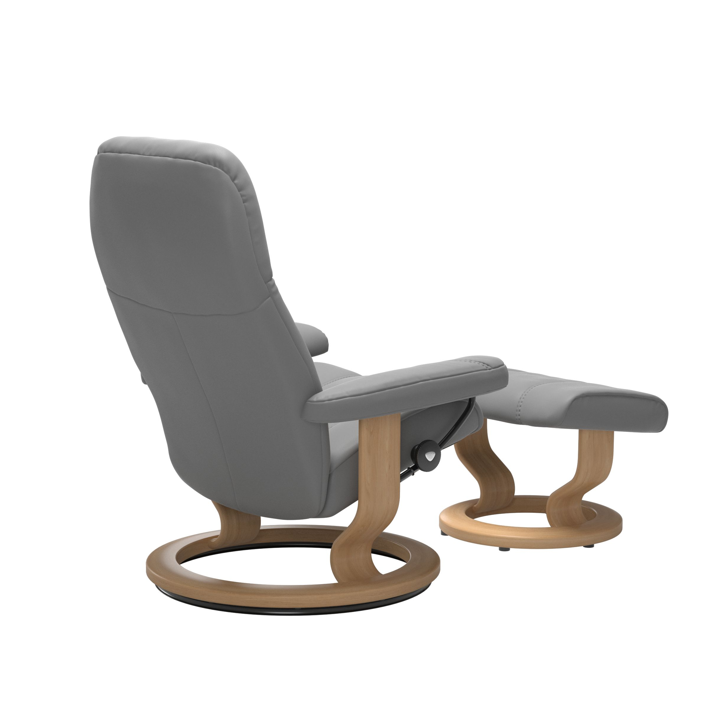 Stressless Consul Wild Dove Medium Recliner Chair