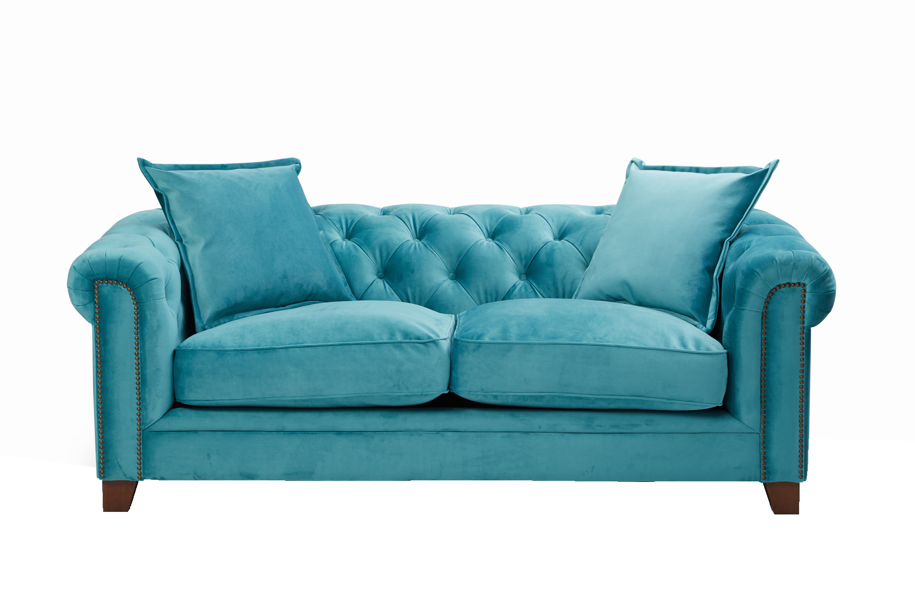 Kennedy 3 Seater Hermit Sofa - Teal