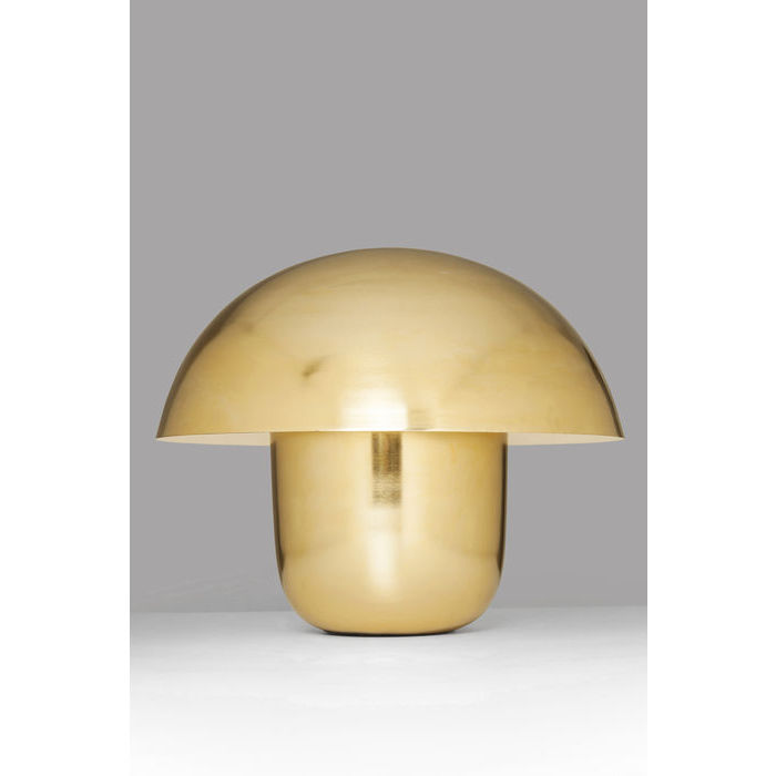 Brass Mushroom Table Lamp