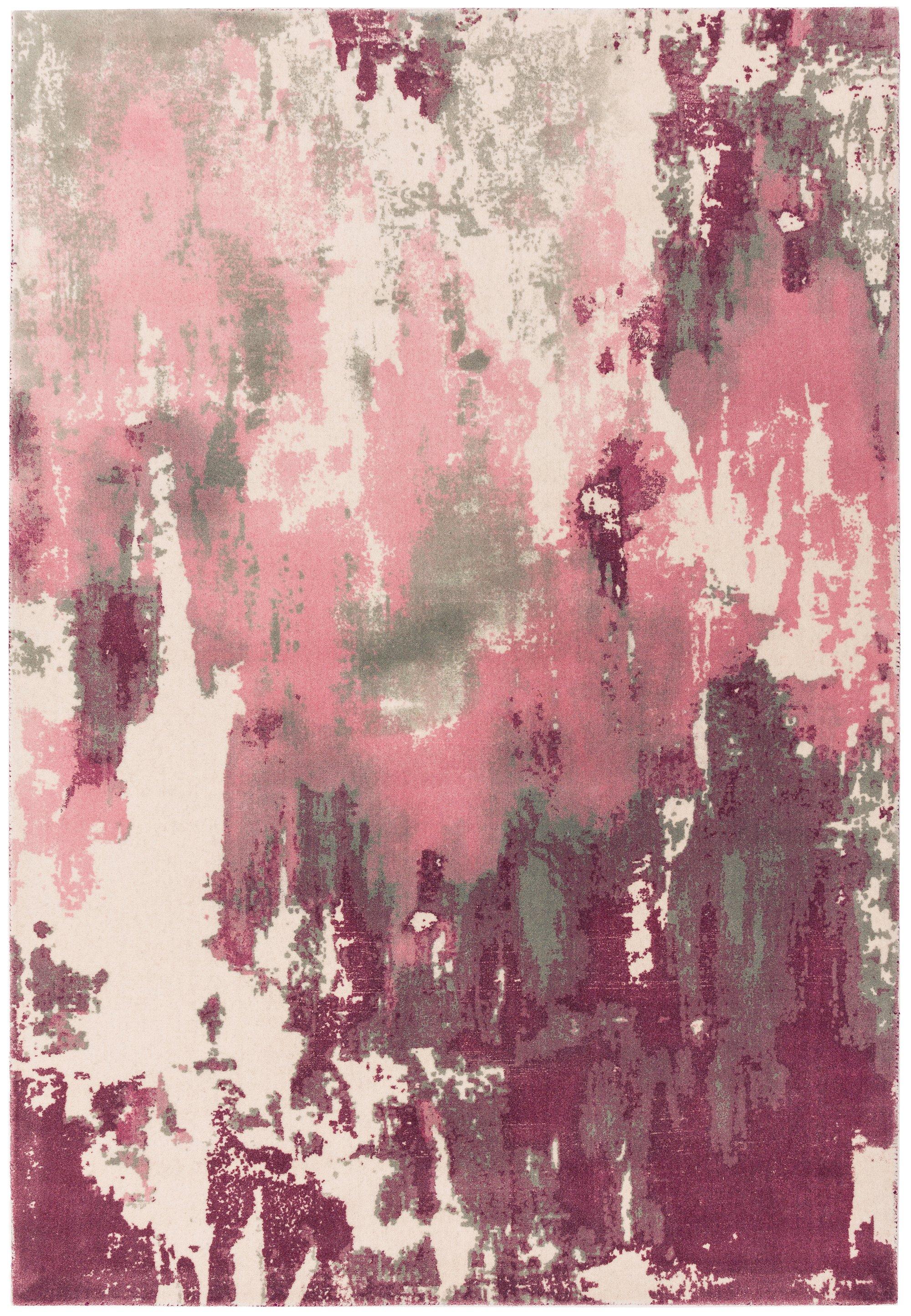 Saturn Rug Pink