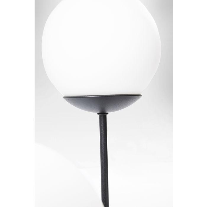 Matt Black Five Balls Floor Lamp