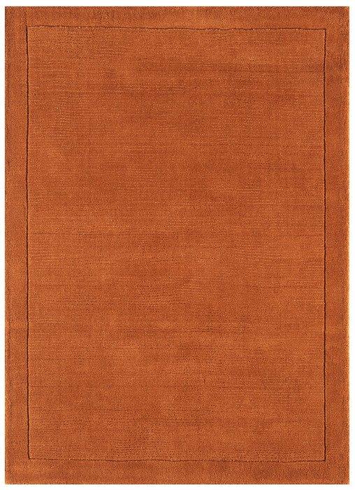 York Rug Terracotta