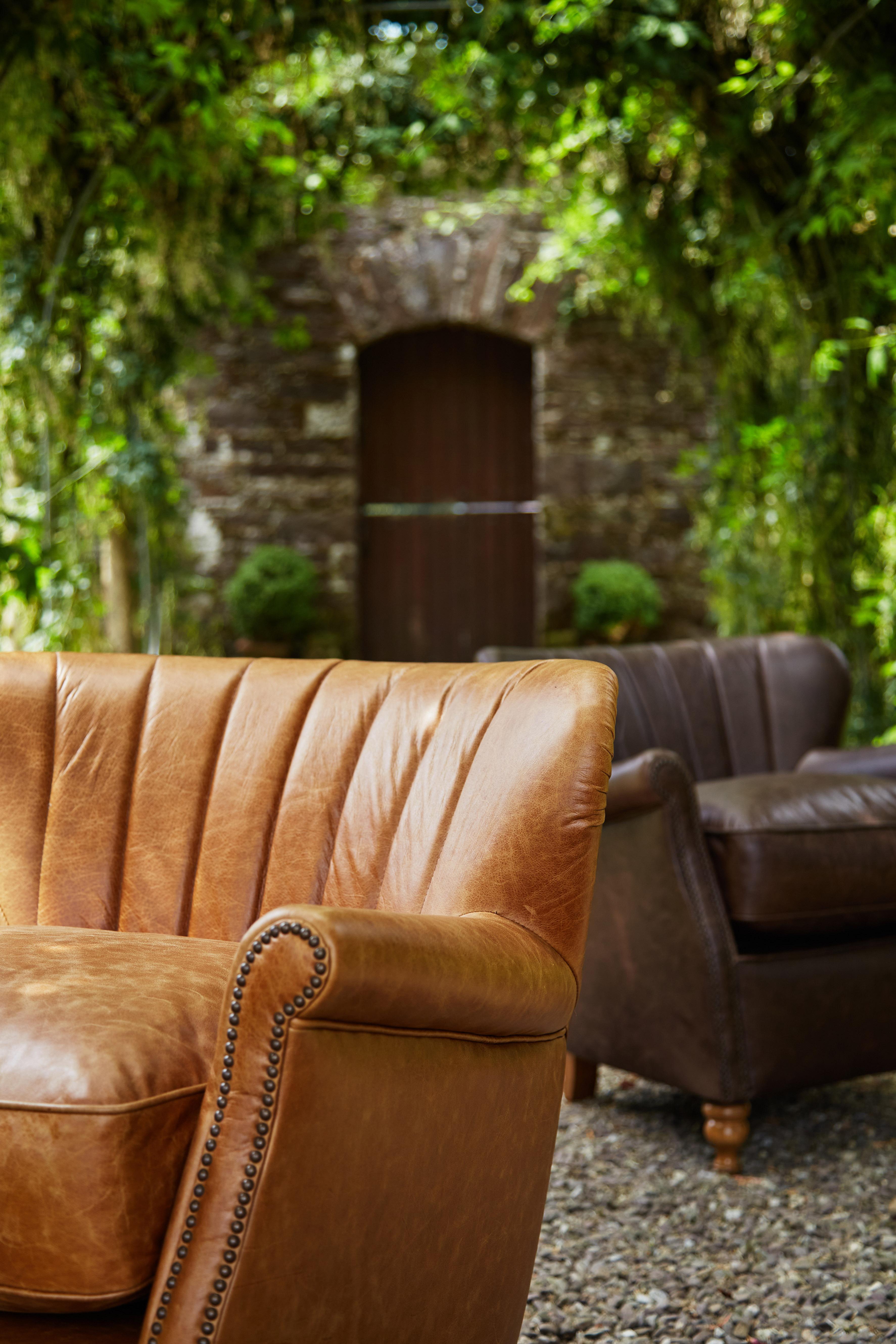 Percy Chair - Satchel Nutmeg