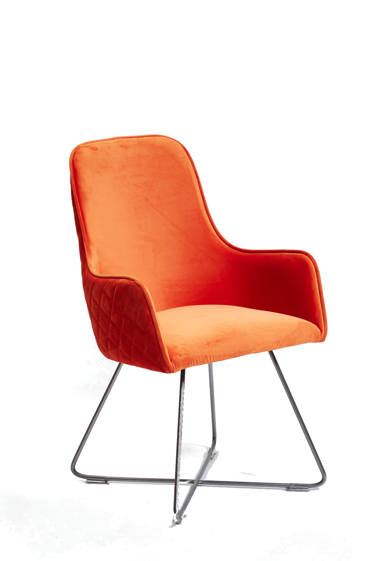 Utah Dining Chair - Pumpkin
