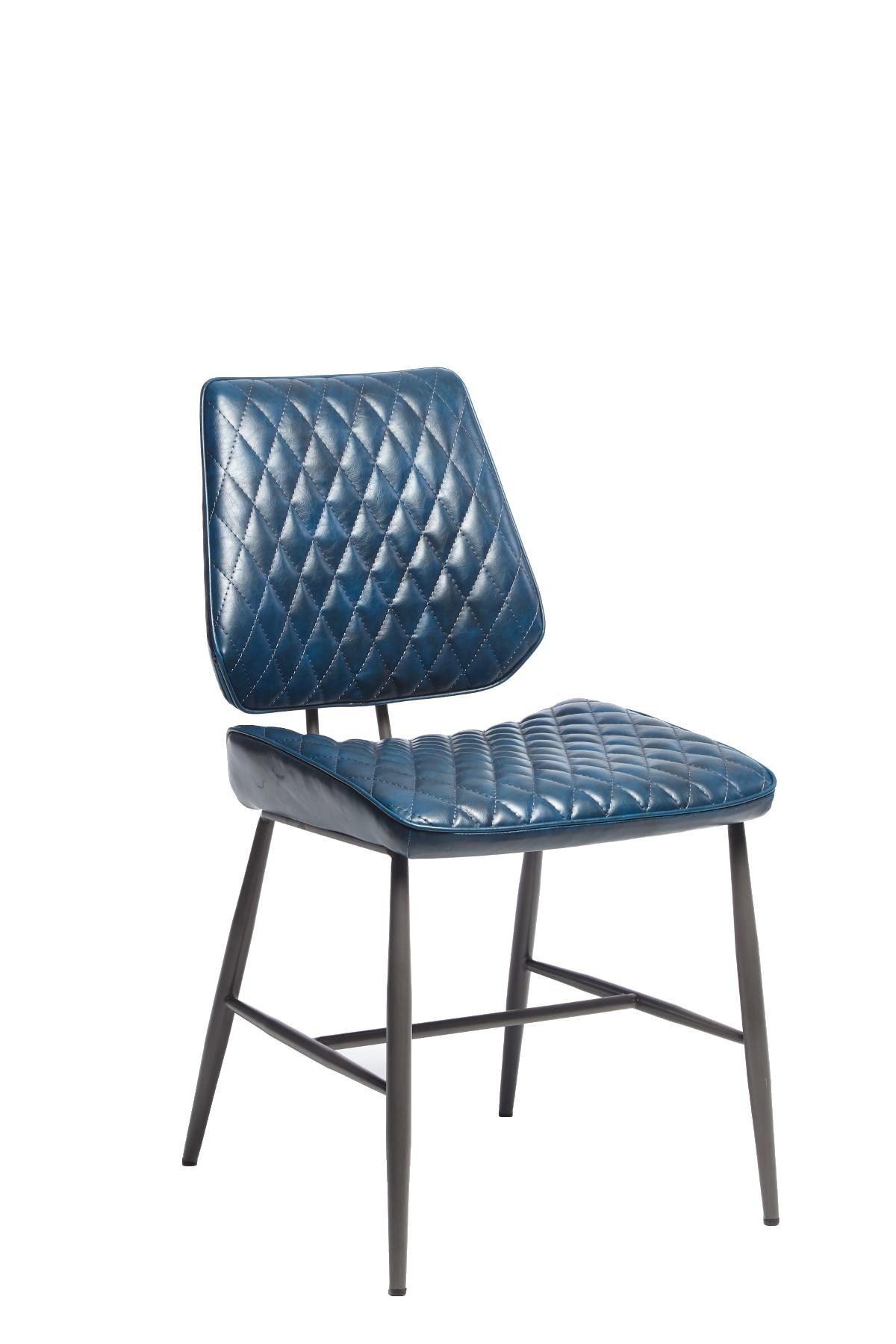 Dark Blue Isabella Dining Chair