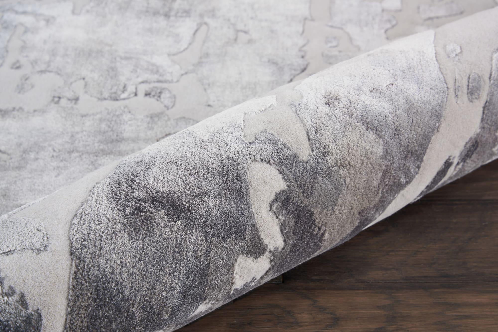 Prismatic Rug PRS12 Silver Grey