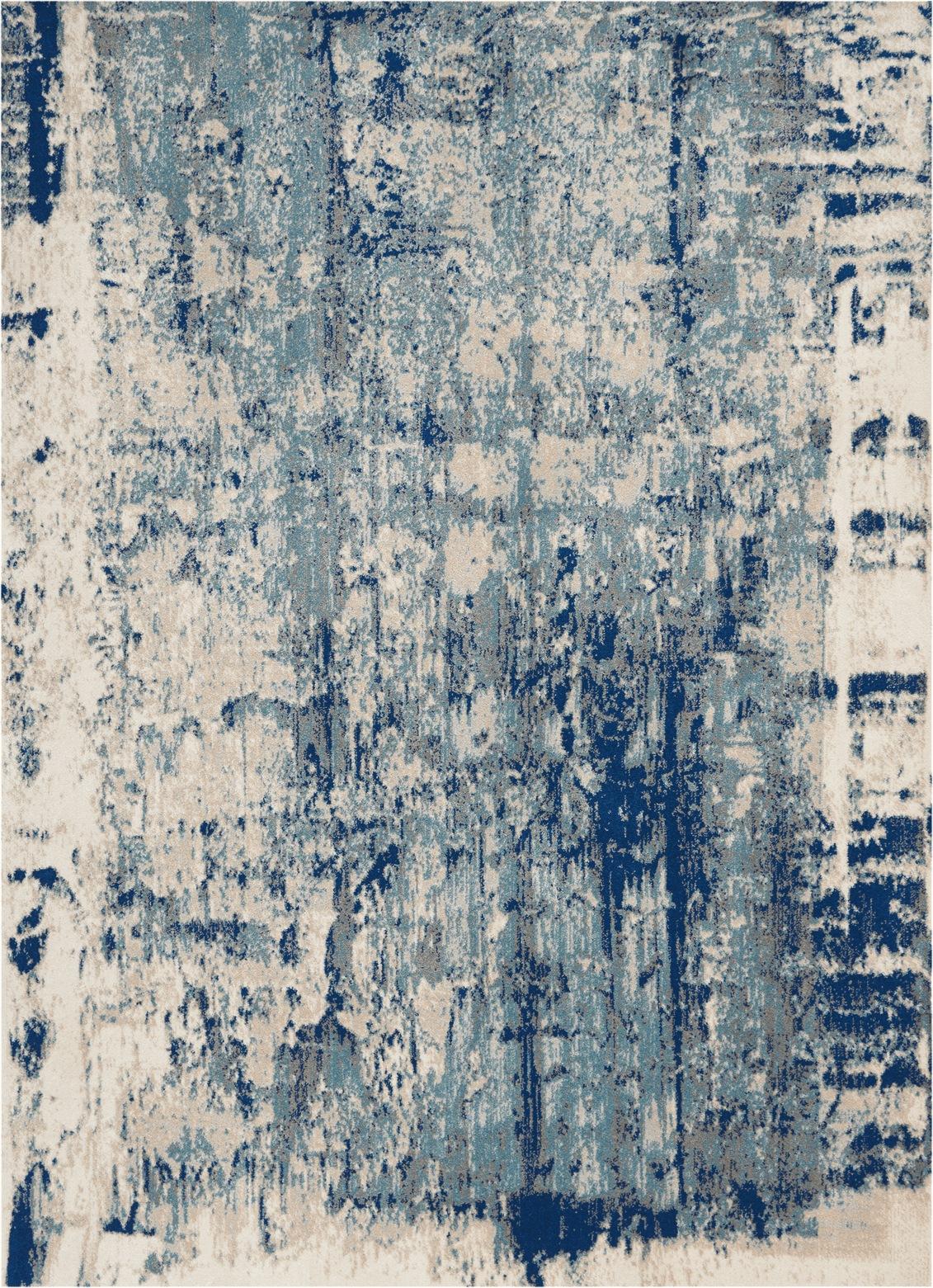 Maxell Rug MAE16 Ivory Blue