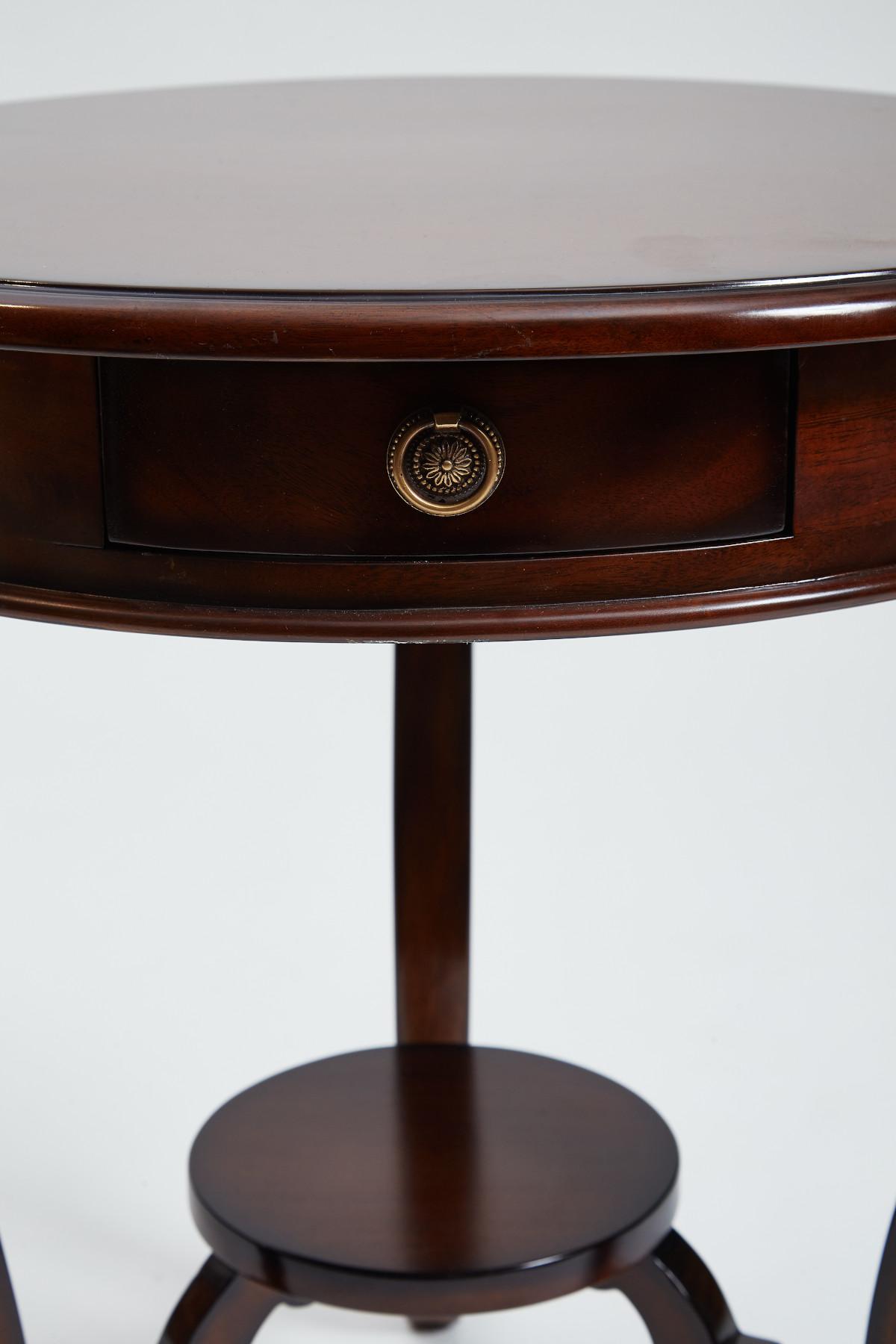 Loire Circular Lamp Table