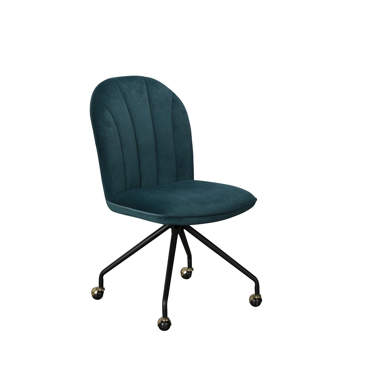 Astrid Chair Petrol Velvet