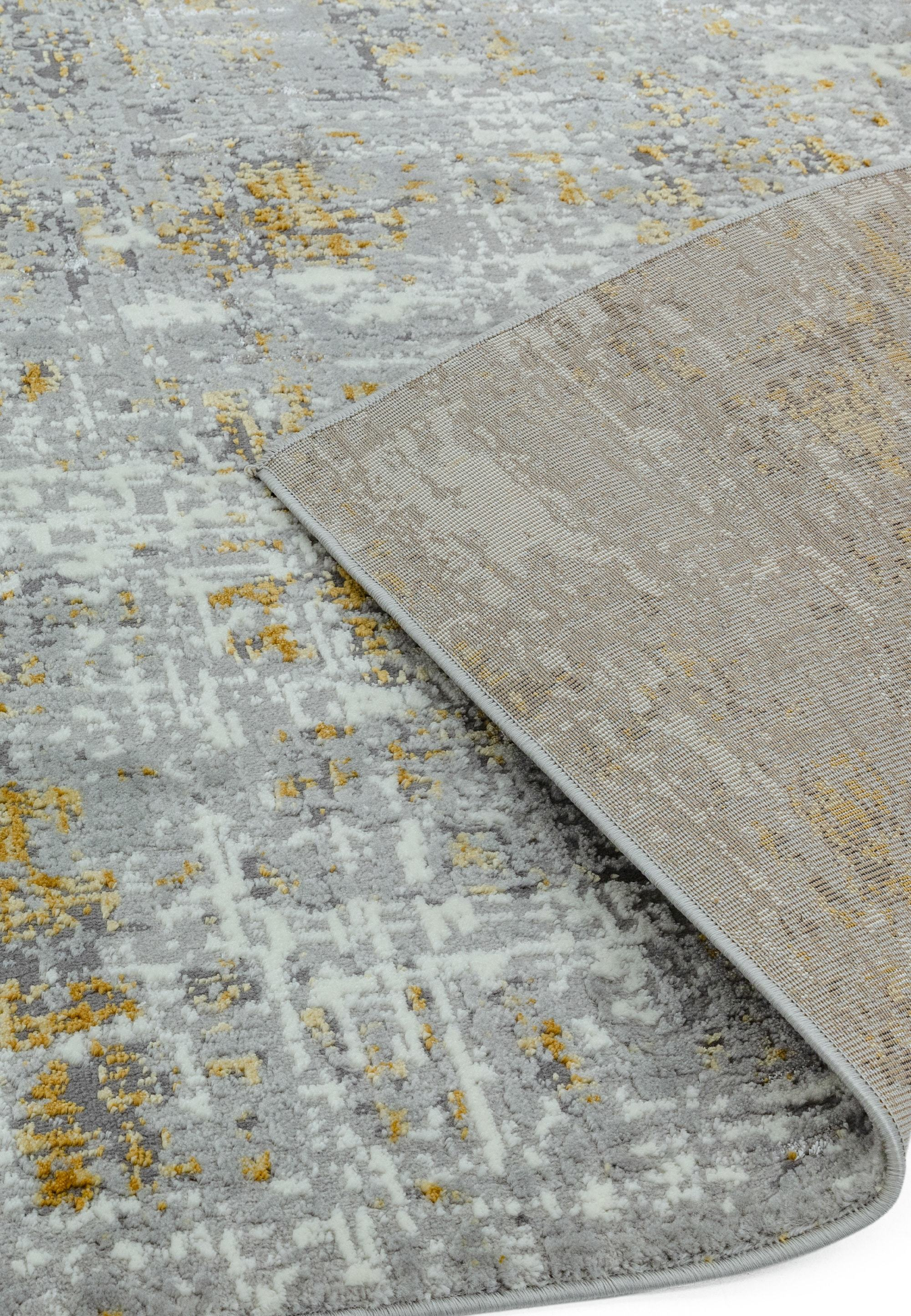 Orion Rug OR07 Abstract Yellow