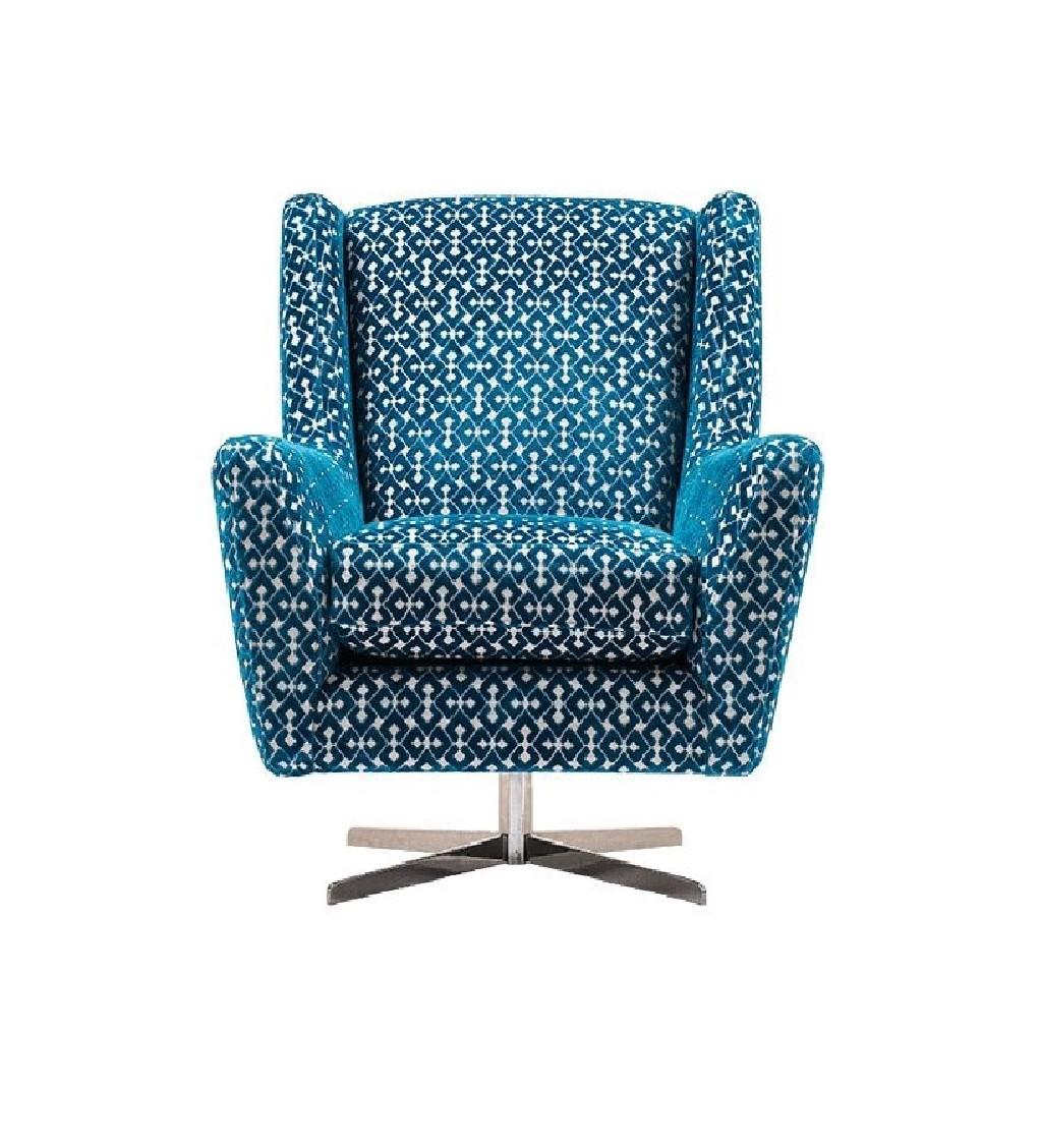 Archie Swivel Accent Chair
