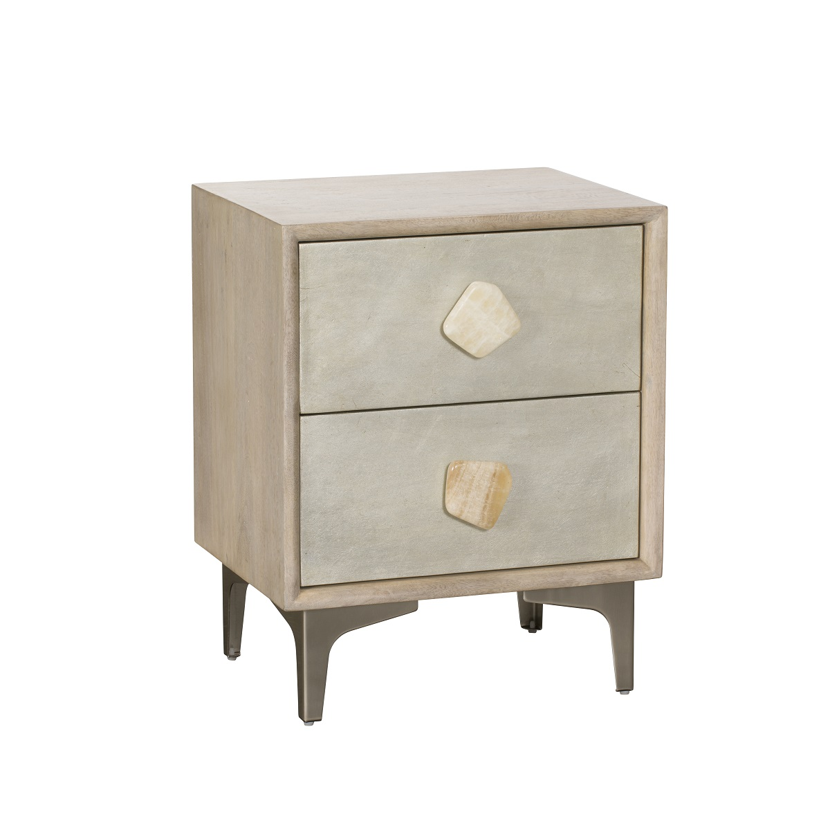 Adelaide 2 Drawer Bedside Locker