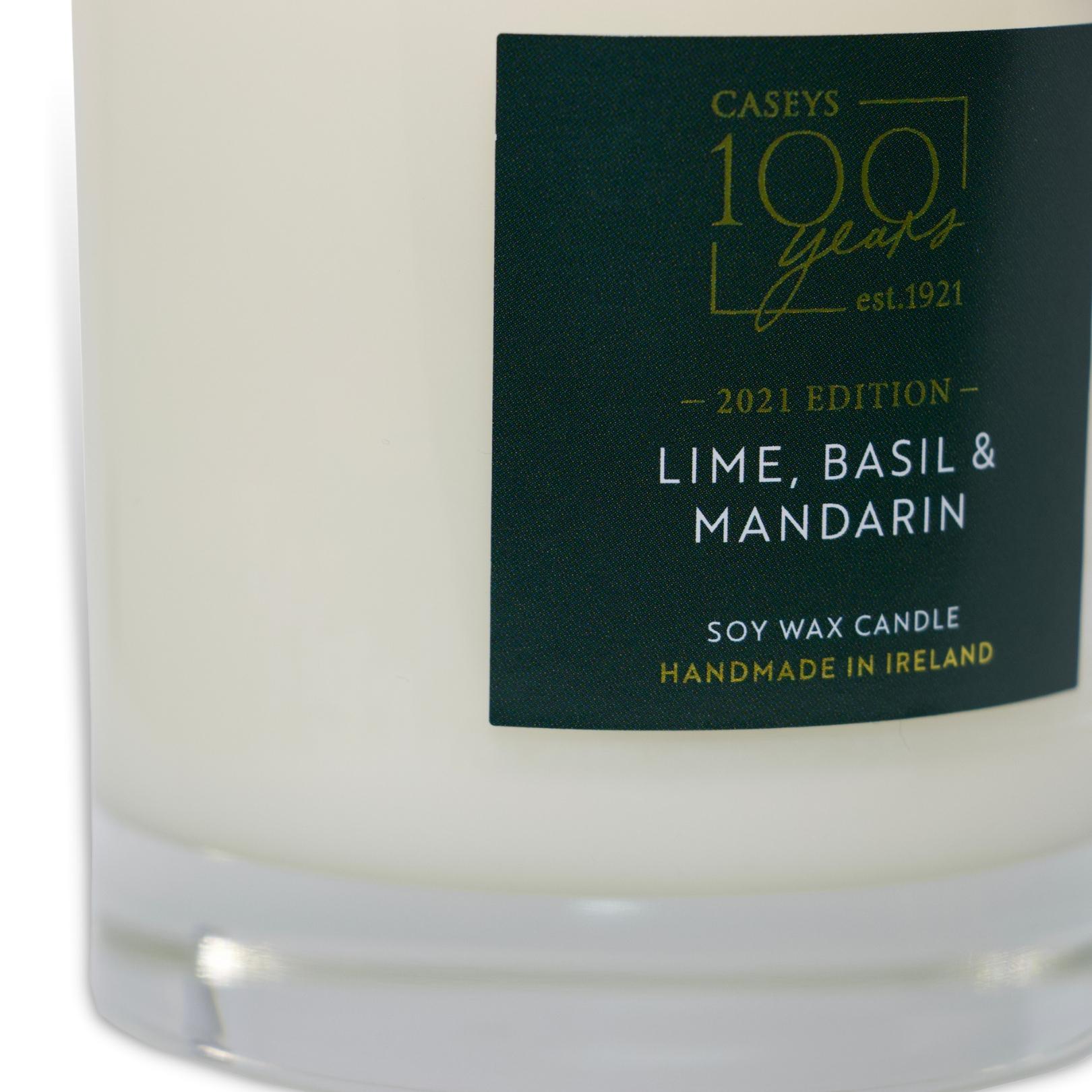 Lime, Basil & Mandarin Anniversary Candle