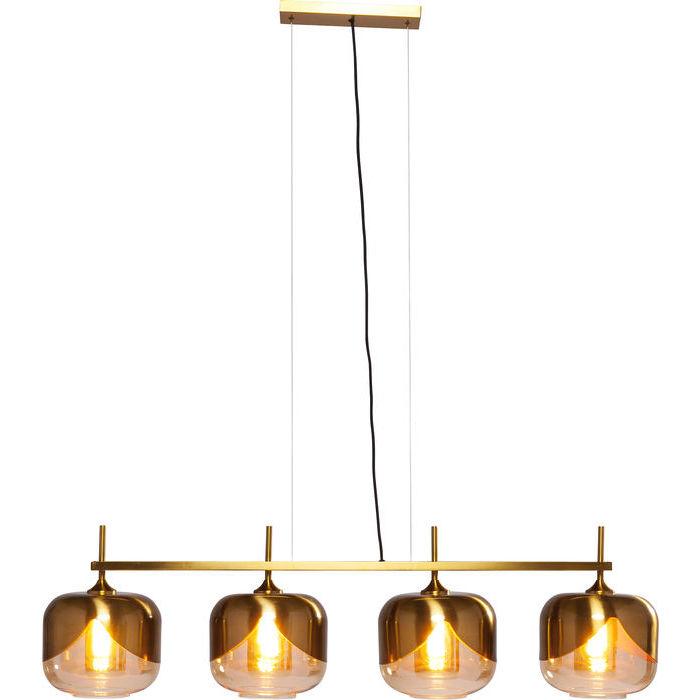 Quattro Golden Goblet Hanging Lamp