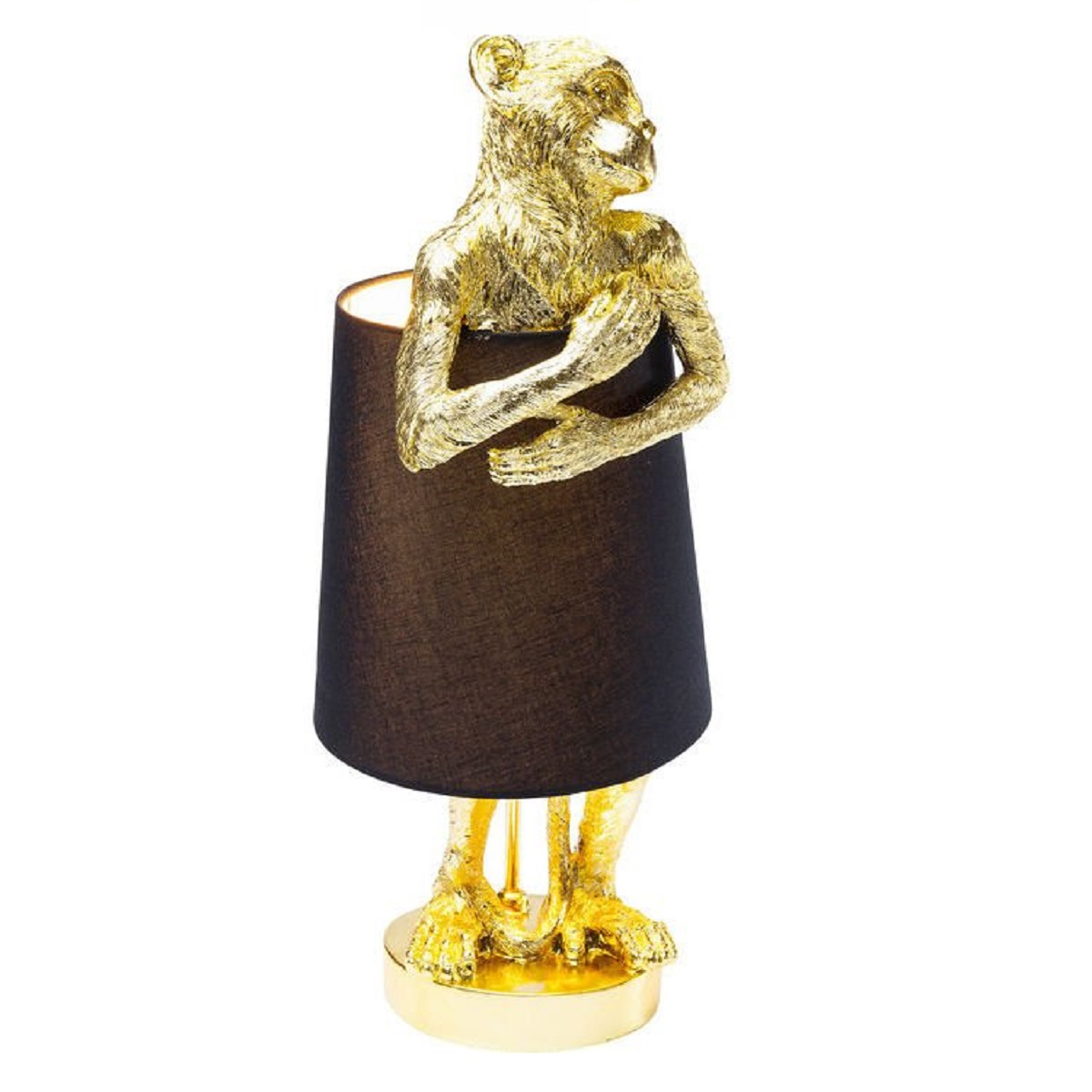 Monkey Table Lamp Gold