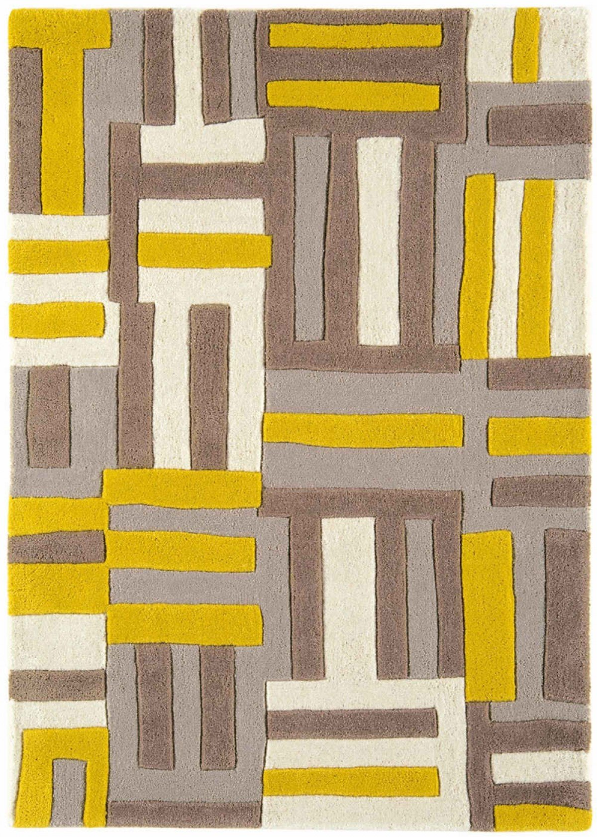 Matrix Rug Code Yellow