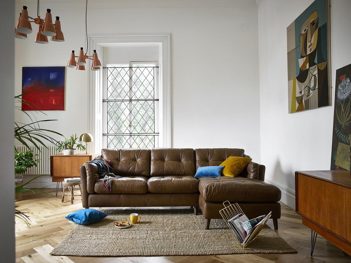 Saddler Chaise Sofa