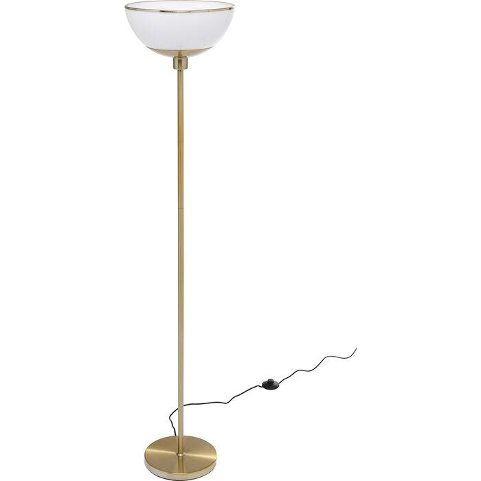 Oslo White Floor Lamp