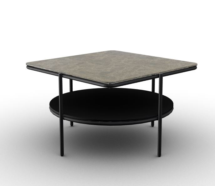 Calligaris Puro Coffee Table Emperador