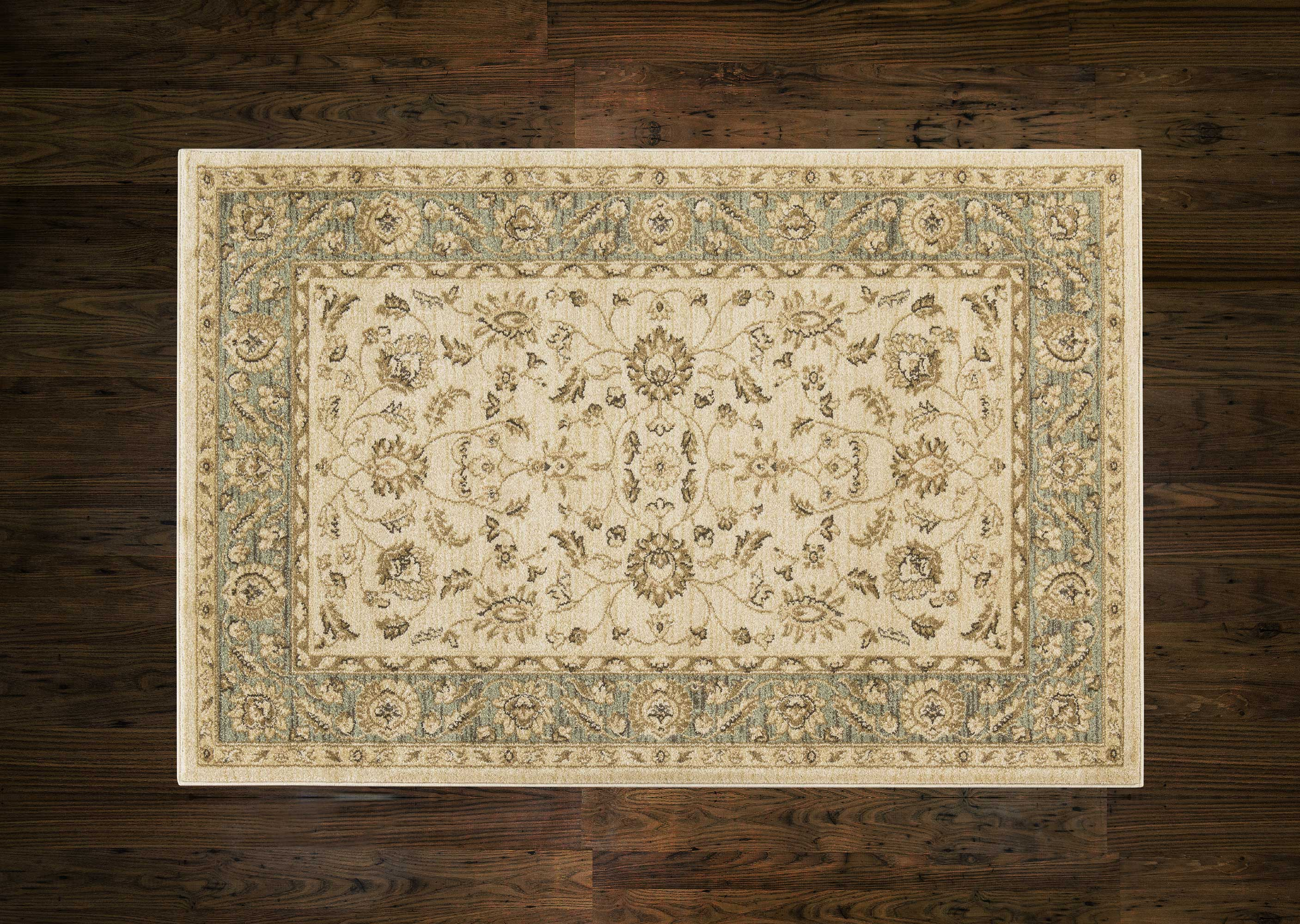 Ziegler Rug 7709 Cream/Green