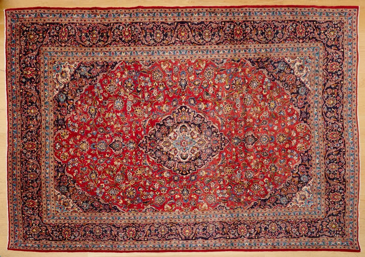 Kashan Persian Rug 386x303 cm