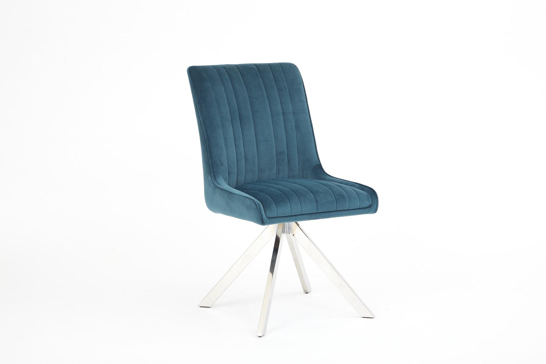 Shauna Teal Dining Chair