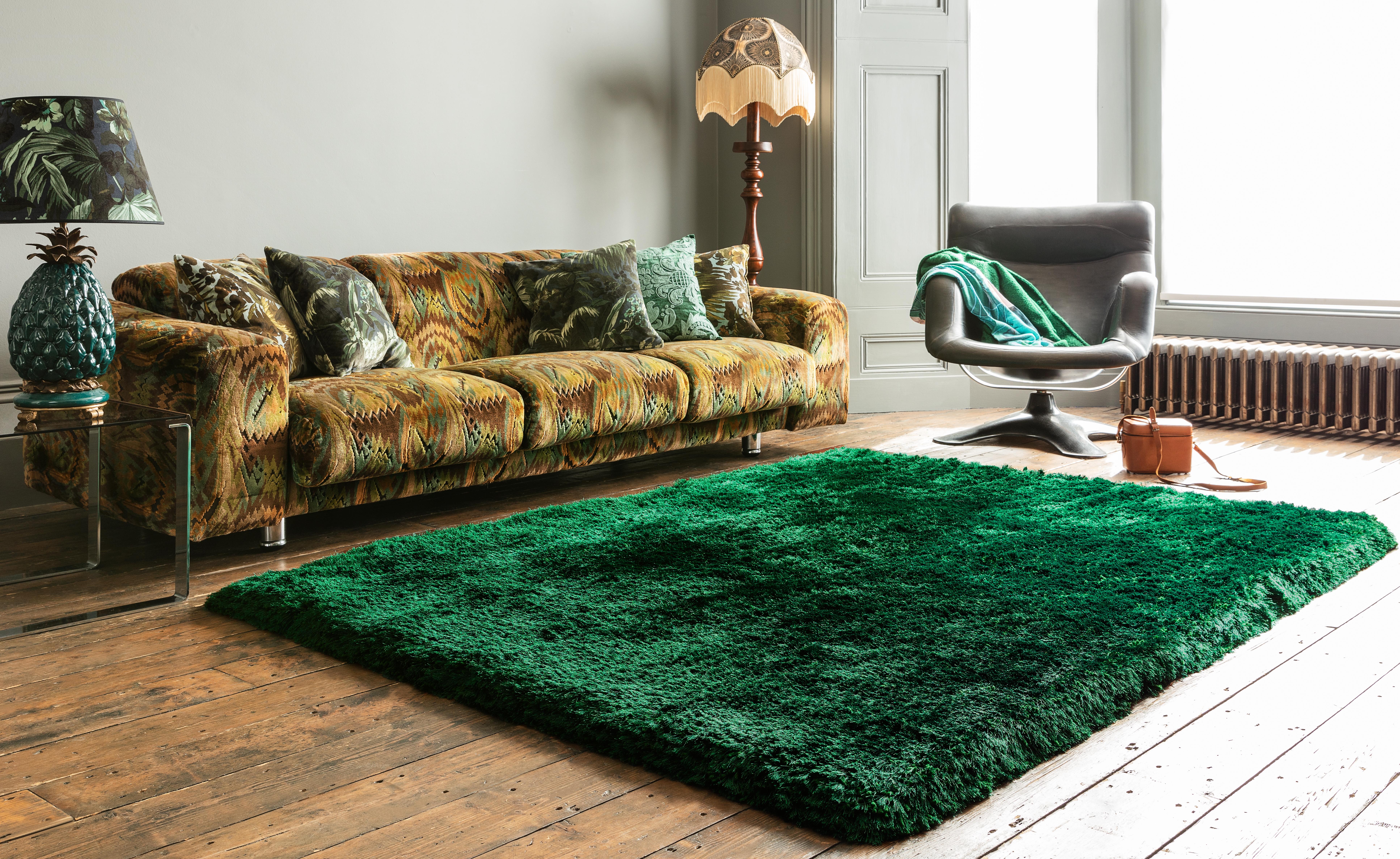 Plush Rug Emerald