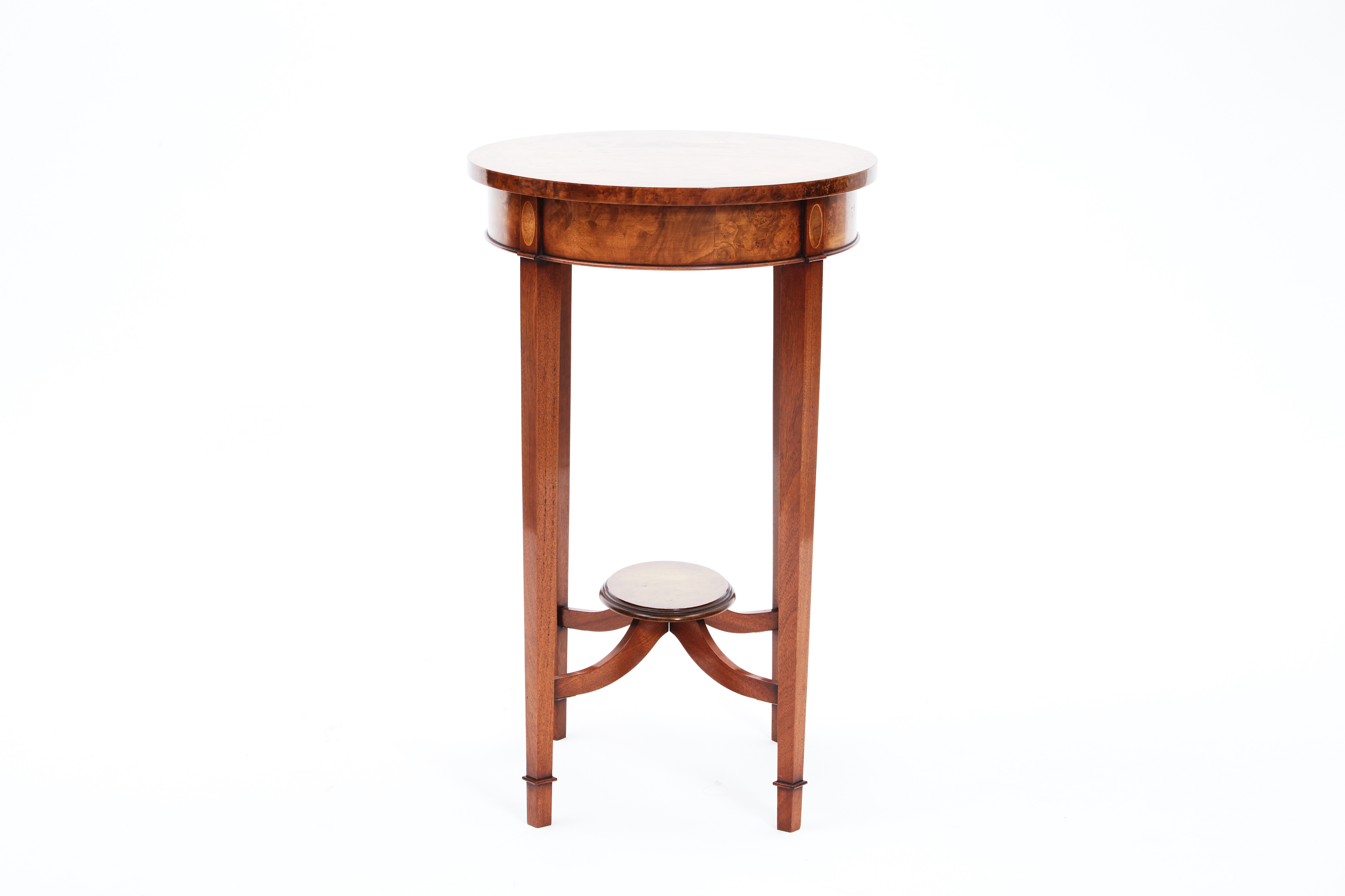 Vintage Mahogany Oval Table