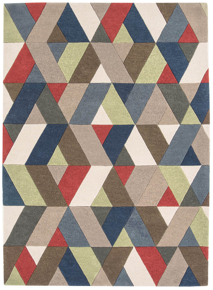 Funk Rug Chevron Multi