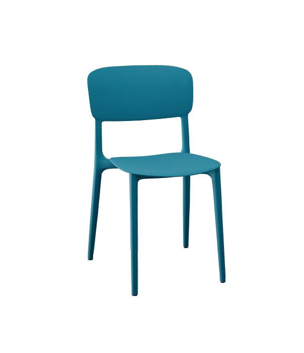 Calligaris Liberty Chair Petrol Blue