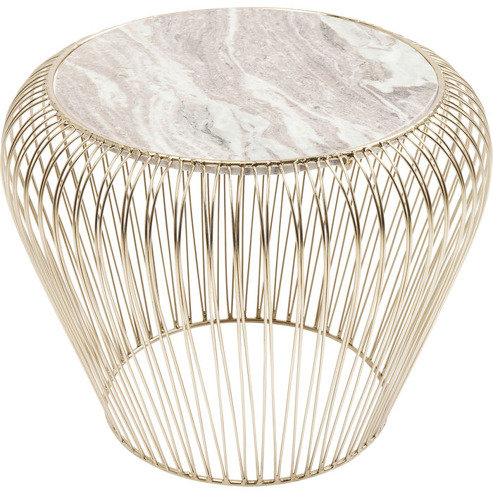 Beam Marble Side Table