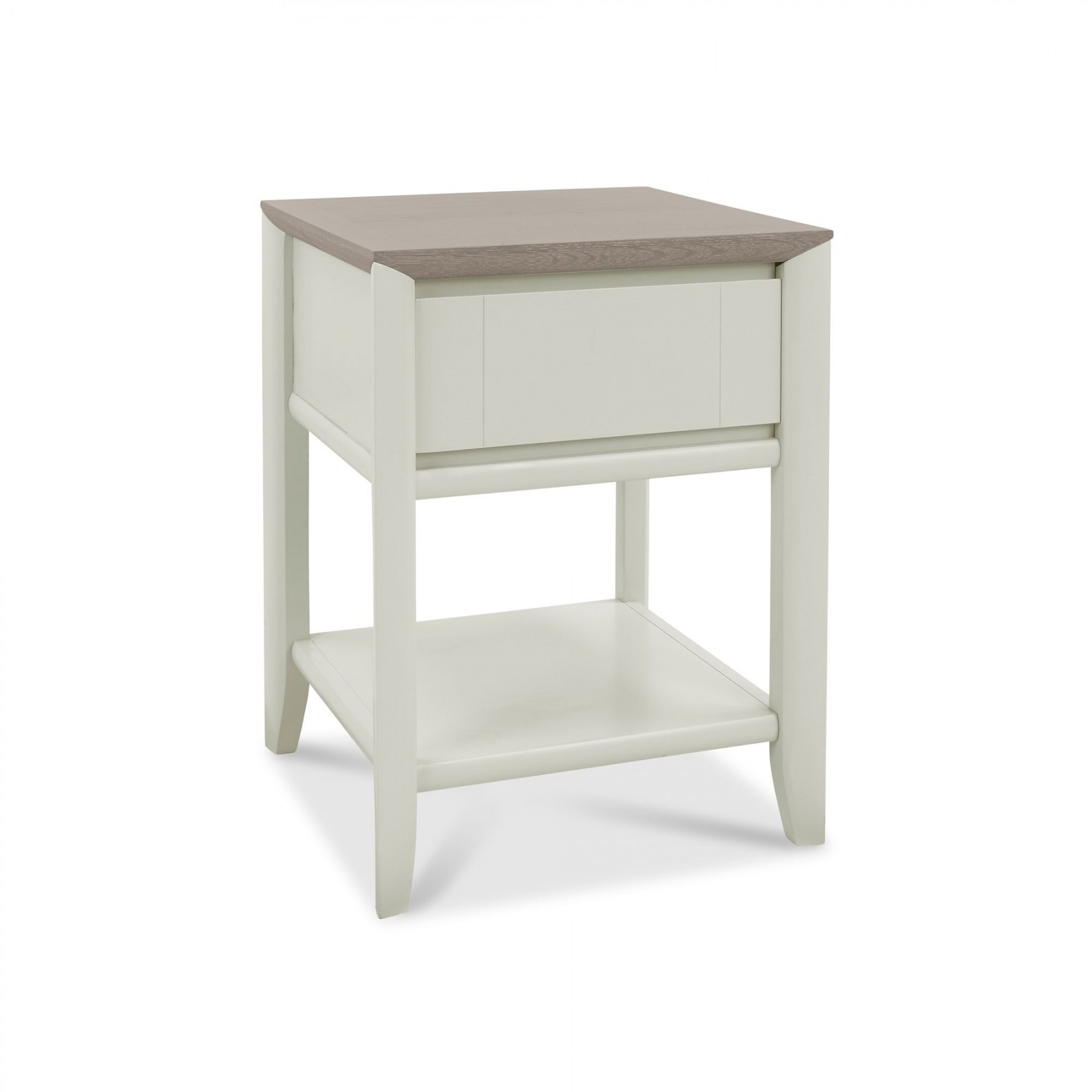 Oakley Grey Lamp Table with Drawer