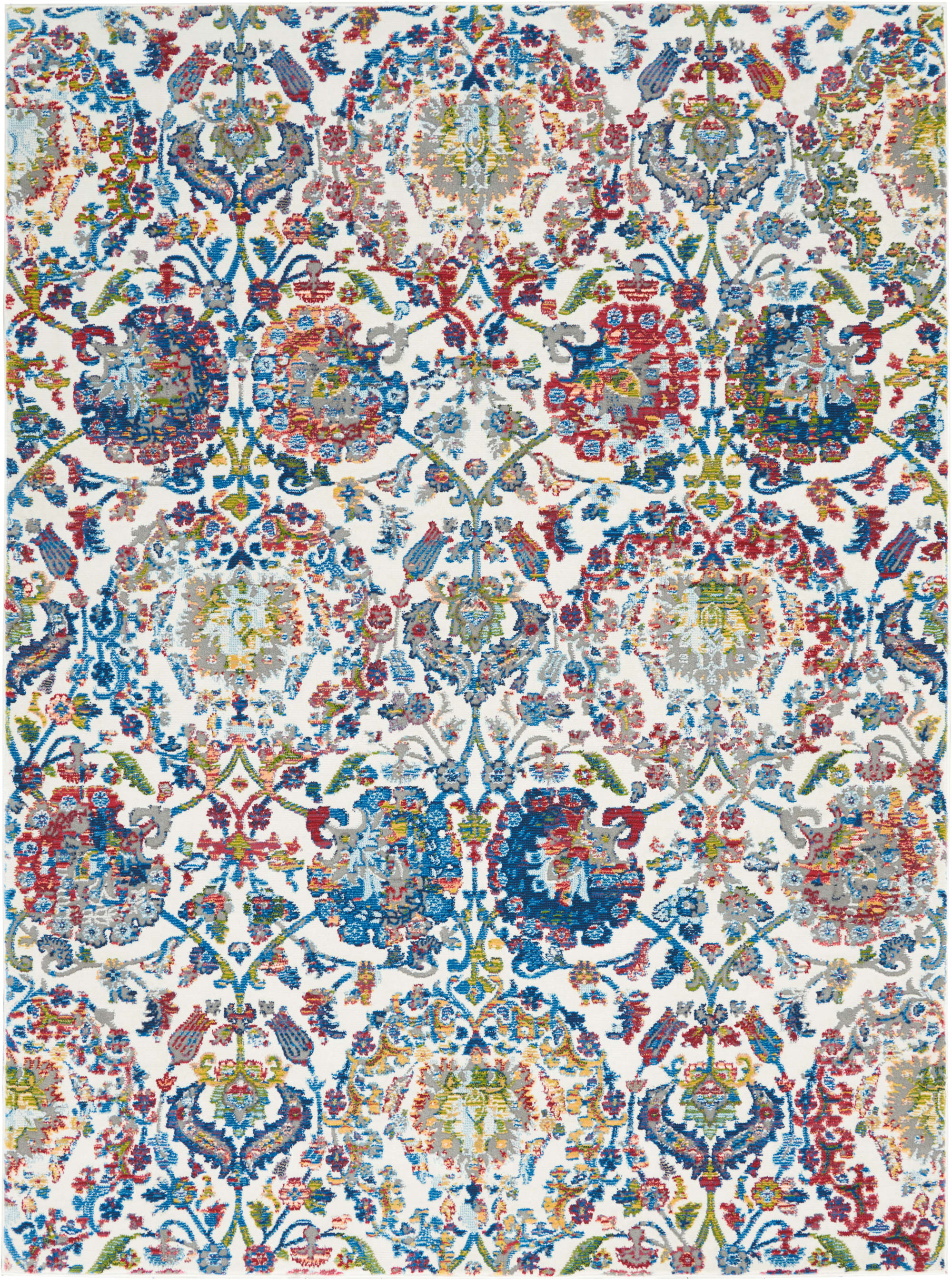 Ankara Global Rug ANR06 Ivory Blue