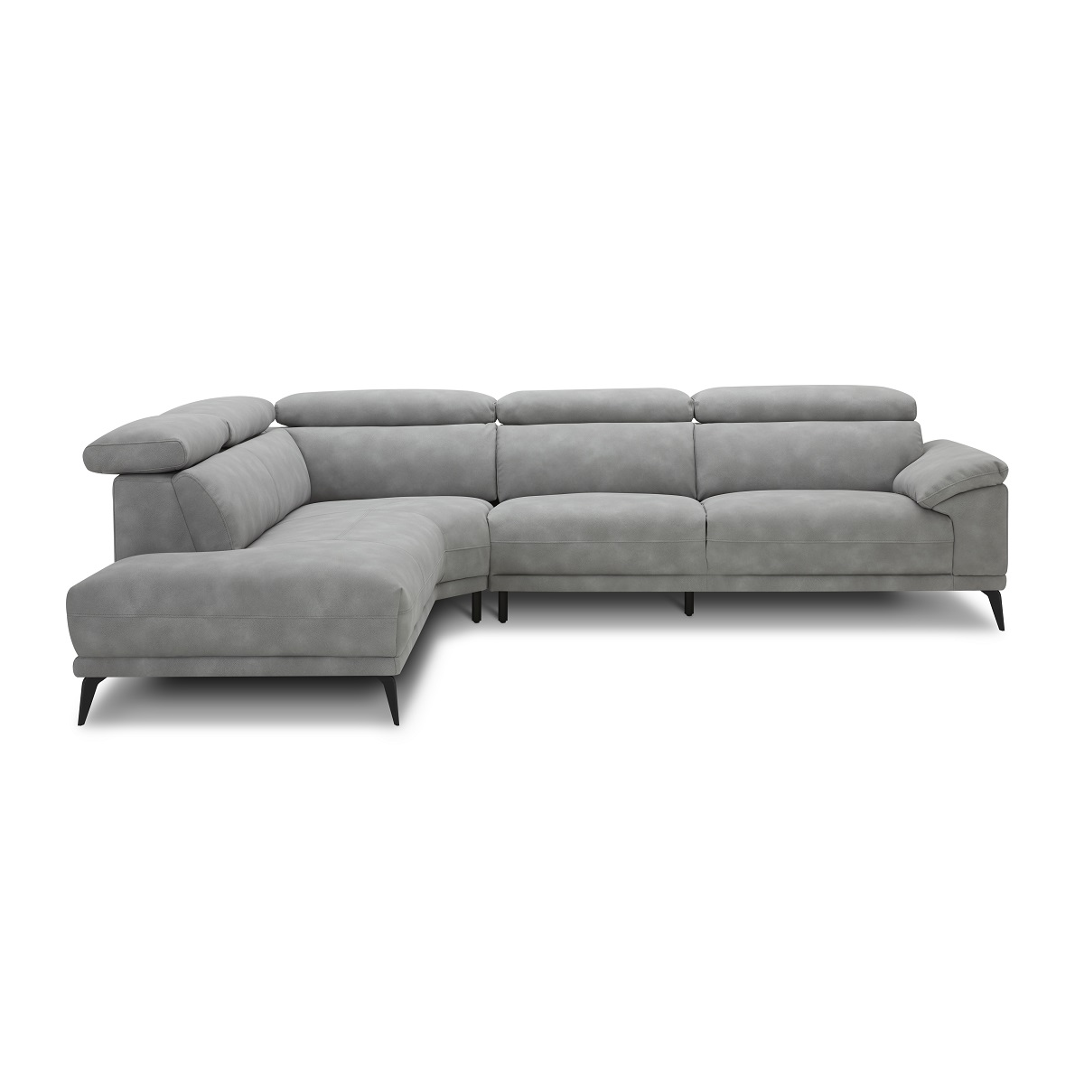 Montero LHF Corner Sofa - Grey