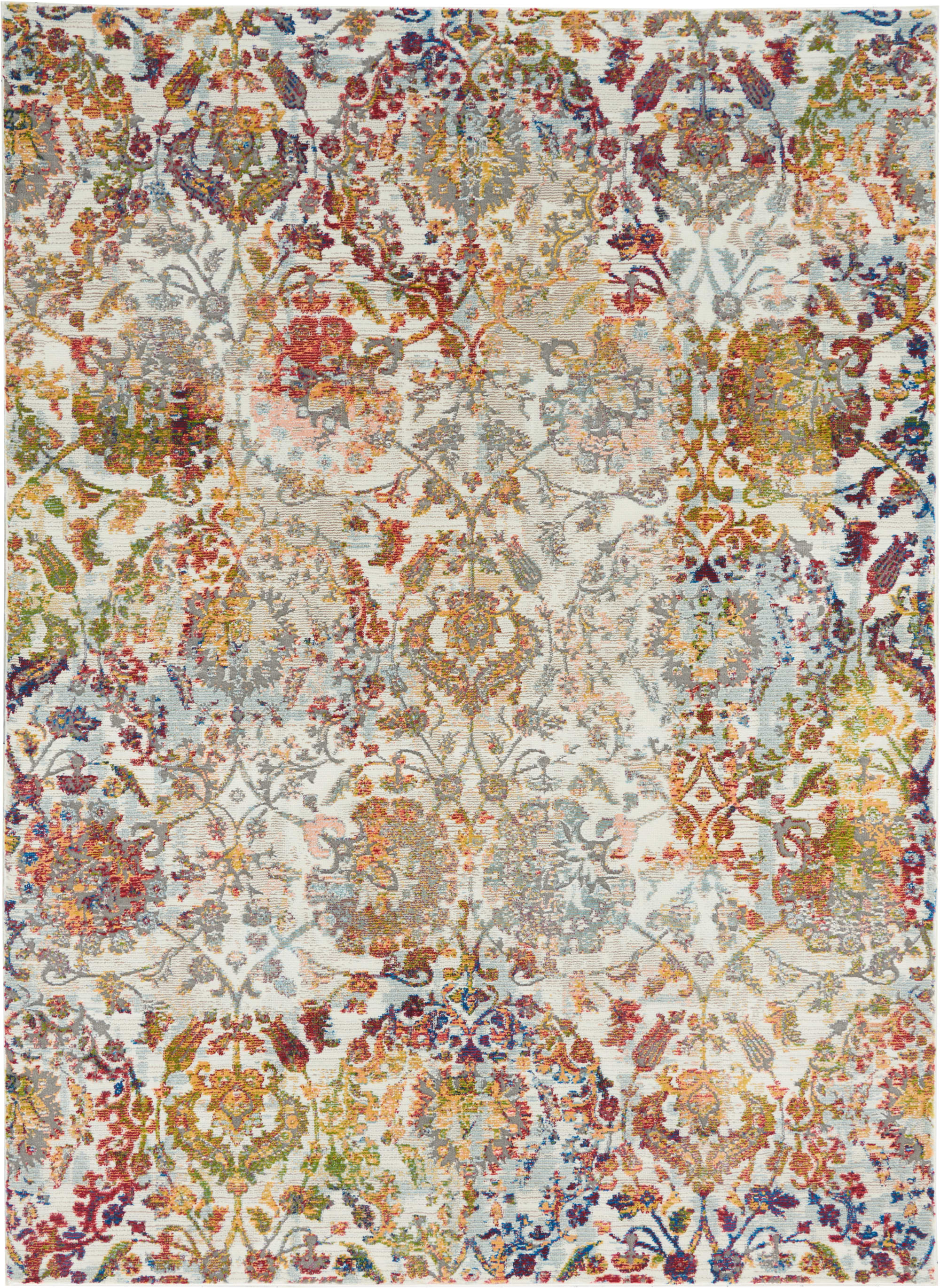 Ankara Global Rug ANR06 Ivory Orange
