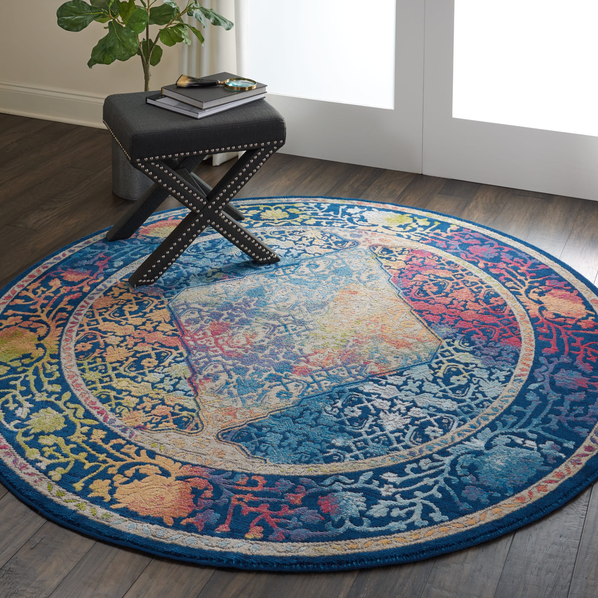 Ankara Global Rug ANR04 Blue Multicoloured