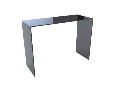 Aurora Grey Tinted Console Table