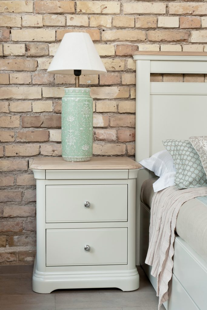 Cliona 2 Drawer Bedside Locker
