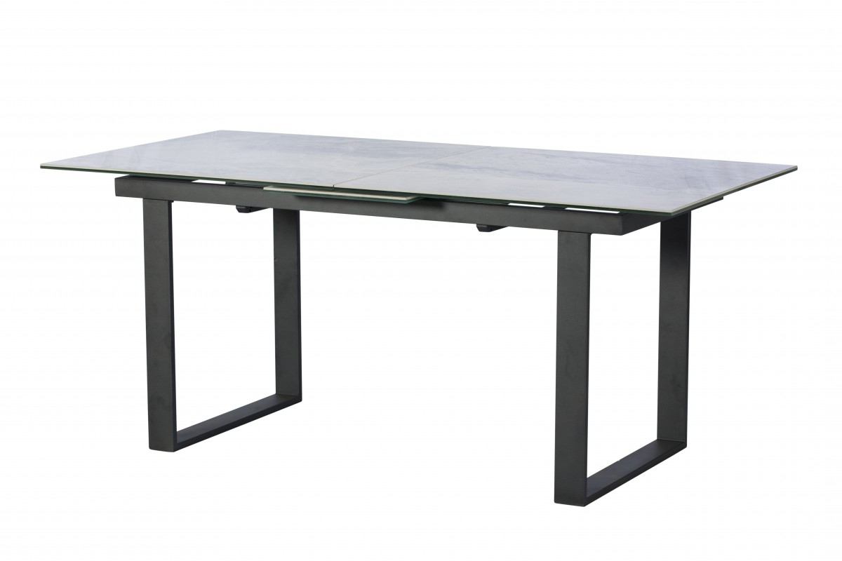 Monterrey Extending Dining Table - Light Grey